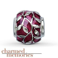 322c8ea42 Charmed Memories Red Leaf Charm Sterling Silver Troll Beads, Red Leaves, Kay  Jewelers,