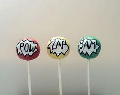 Pop Art Cakepops by Gingercups