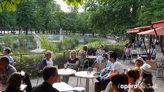 Top 15 des terrasses à Paris > le Café Diane aux jardins des Tuileries !  Un écrin de verdure et de paix au coeur du jardin des Tuileries, à quelques mètres du Louvre. Nous y avons organisé un apéro Spritz et passé une délicieuse soirée d'été en plein Paris !  #terrasse #Paris #bar #apero