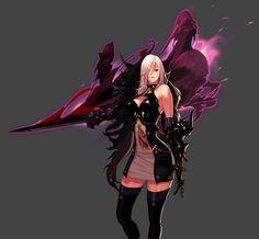 Female Slayer - Dark Templar Portrait
