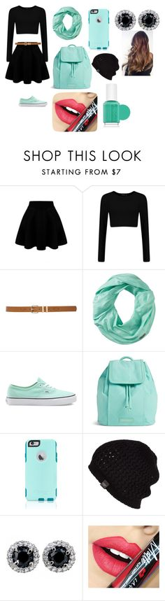 """School Outfit"" by jenniferlindtner ❤ liked on Polyvore featuring M&Co, Smartwool, Vans, Vera Bradley, OtterBox, UGG Australia, Fiebiger, Essie, women's clothing and women"