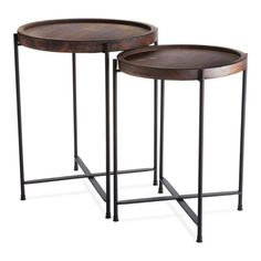 Morris Set of 2 Side Tables - Napa Home and Garden - $187 - domino.com