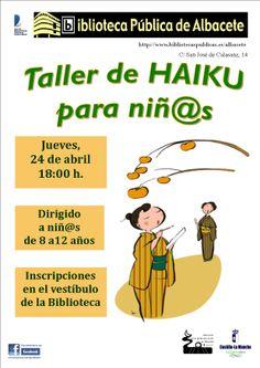 24 de abril: Taller de Haiku para niñ@S