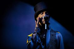 Prince - 2011  Prince performs on the Isle of Amager in Copenhagen, Denmark, August 6, 2011.  Credit: Polfoto/Jakob Joergensen/AP