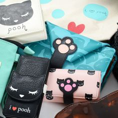 Osumashi Pooh-chan is our favorite pouch brand. We're having a sale on our shop!