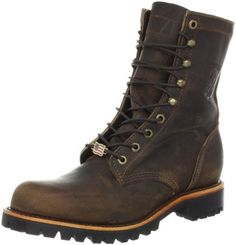 Chippewa Men's 20085 Boot Chippewa. $153.00. Insulation: None.; Soft toe.; Insole: 5 Iron Texon.; Handcrafted In The USA.; Upper: Chocolate Apache. Outsole: Vibram 132 - Lug. Lining: Drill Vamp.; leather; Vibram sole