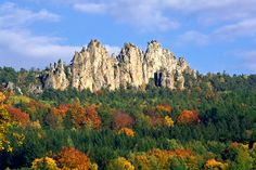 """""""Dry Rocks"""" in Bohemian Paradise (East Bohemia), Czechia Beautiful Places In The World, What A Wonderful World, Prague Spring, Save Planet Earth, Hiking Routes, Amazing Destinations, Natural Wonders, Czech Republic, Nature Photos"""