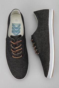 Josef Twill Plimsoll Sneaker.