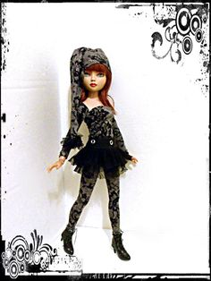 ELLOWYNE WILDE MSD PUNK FROUFROU ELVEN GOTH GOTHIC DRESS FASHION OUTFIT SET OOAK | eBay
