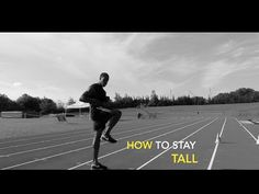 Hip strength is a key component in the ability to sustain speed. In this video I will show you the difference between running with low hips and high hips. Sprint Workout, Running Drills, High Hips, Stretching Exercises, Sports, Youtube, Hs Sports, Sport, Youtubers