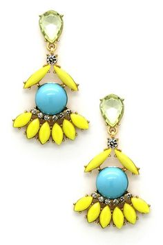 Tina Earrings by Eye Candy Los Angeles on @HauteLook