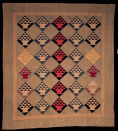 The Quilt Index.    Amish, Illinois, early 20th c.