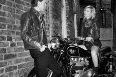 ADV & Campaign | Matchless London. Kate Moss by Terry Richardson