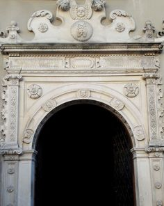 Mannerist portal of the Celej House in Lublin (Rynek 18, circle of Santi Gucci). © Marcin Latka #mannerist #mannerism #portal #celejhouse #lublin #artinpl #santigucci Portal, Gucci, House, Home Decor, Decoration Home, Home, Room Decor, Home Interior Design, Homes