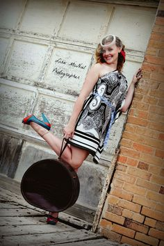 Using vintage suitcase in your senior pictures.