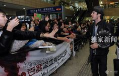 Ian Somerhalder in China 2013