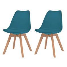Eetkamerstoel andre komeet kleur bruin beuken poten meubel for Sedie turchesi