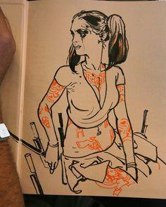 Kim Jung Gi #booksigning #kimjunggi #illustration #sketch #drawing #livedemo