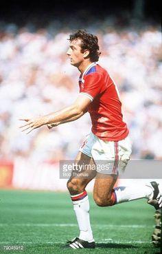 World Cup Finals Bilbao Spain 16th June England 3 v France 1 England's Trevor Francis