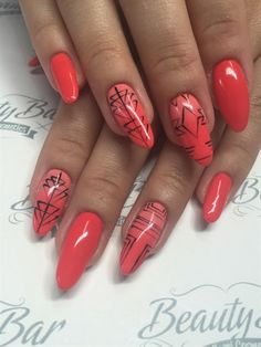 Cameo Coral by beautybar_bg from Nail Art Gallery