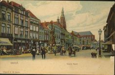 Grote Markt rond 1905