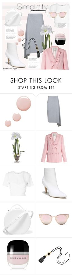 """""""kate"""" by stormbattereddragon ❤ liked on Polyvore featuring Topshop, TIBI, Sia, T By Alexander Wang, Carlos by Carlos Santana, Nico Giani, LMNT and Marc Jacobs"""