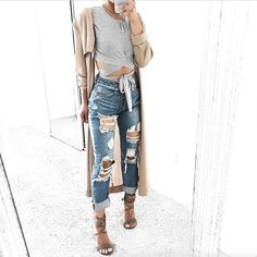 More coming soon! Approx. Date: Mid April 2017 Blogger Fave: @taliacupcake These Released Cuff Boyfriend Jeans have cool written all over it. These light blue denim washed boyfriend jeans feature five