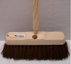 10 inch Outdoor Brush c/w Threaded Handle | Brooms - Cleaning Supplies 2U