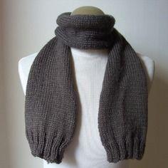 Echarpe mixte (homme, femme ou enfant) en laine sport phildar