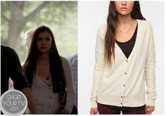 Shop Your Tv: The Vampire Diaries: Season 4 Episode 3 Elena's White Cardigan