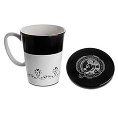 Disney Mickey Mouse Mug and Lid Set | Disney StoreMickey Mouse Mug and Lid Set - Crafted in ceramic, this elegant black and white combination is a great travel companion. Part of our stylish Gourmet Mickey collection, this set of 12 cups feature the signature filigree pattern with Mickey icon design.