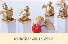 Schutzengel in Gold