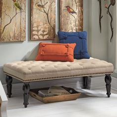 Chesterfield Tufted Ottoman