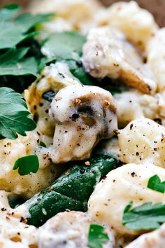 """A delicious restaurant quality chicken and spinach gnocchi made all in ONE skillet! Okay so the big question each year (okay not really a """"big"""" question, but stay with me here..) stay in or go out for Valentine's Day? If you are going out, then you will need this recipe the day AFTER Valentine's Day...Read More »"""