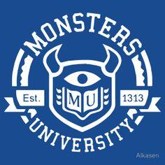 Monsters University! MU by Alkasen