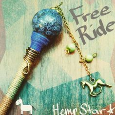 Friday is the best day!  Be #free wear your sweats and binge-watch stuff on netflix amiright?  Free Ride Roach Clip TO BUY: Comment with your email address and you'll receive a secure checkout link. Price: $28.75.  This clip is hand designed with a beautiful blue bead hemp-wrapped with a wire twist an antique brass horse charm and glass beads. Keep your fingers from burning with this stylish looking clip! Enjoy the smoke!  Comment #subscribe  your email address to subscribe to instant…