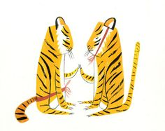 Ping Zhu: Tigers