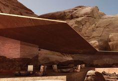 Viva uma vida de puro luxo em deslumbrante hotel no deserto  - Fotos - R7 Economia