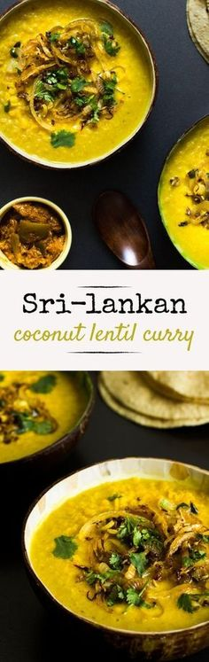 This vegan Coconut Lentil Curry is something my mum cooked at least once a week growing up. (She still does). It's a staple curry among any Sri-Lankan household – probably down to it being so yummy and easy to do.