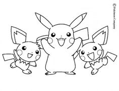 Pokemon Printable Coloring Pages . 30 Awesome Pokemon Printable Coloring Pages . top 93 Free Printable Pokemon Coloring Pages Line Pikachu Pikachu, Pokemon Black, Pokemon Noir, Baby Pokemon, Pikachu Mignon, Pokemon Rare, Horse Coloring Pages, Draw