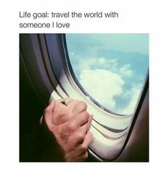 Travel the world with someone l love