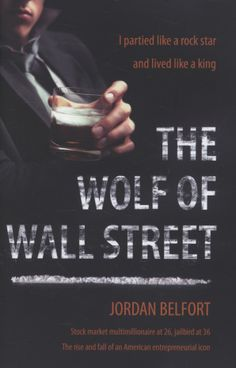 The wolf of Wall Street. I'm in love with the movie, so the book has to be good! #SummerReadingList