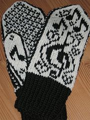Ravelry: Loves Sweet Song pattern by Mona Bultena Mittens Pattern, Knit Mittens, Mitten Gloves, Knitted Hats, Fair Isle Knitting, Hand Knitting, Knitting Needles, Needlework, Diy And Crafts