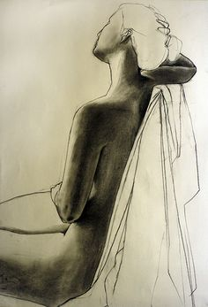 life drawing of a female