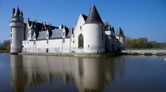 Chateau du plessis bourre, Angers, France