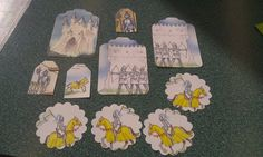 Knights Suit of Armor  Renaissance Scrapbooking Tags by amylaugh, $2.95