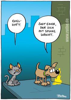 Cartoon, lustig