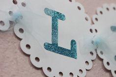 Bandeirola Glitter