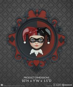 Atomic Misfit Harley Quinn Wall Hanging by Xhanthi | Sideshow Collectibles