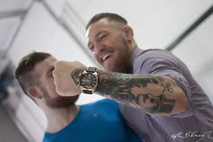 Conor McGregor forearm tattoo